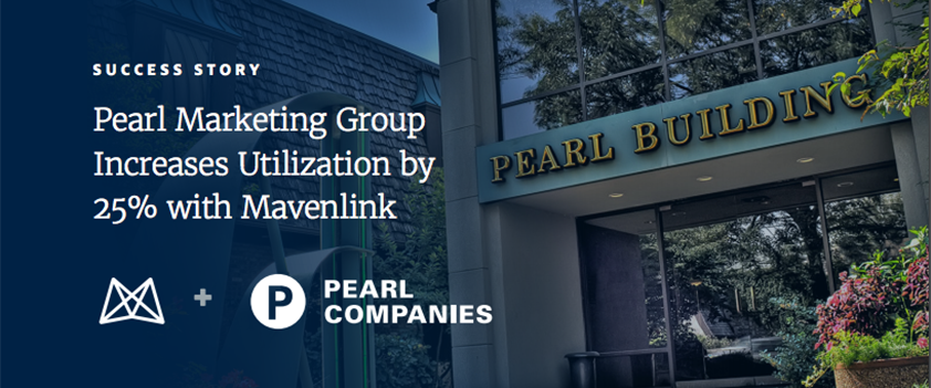 Pearl Marketing Group Increases Utilization by 25 Percent with Mavenlink